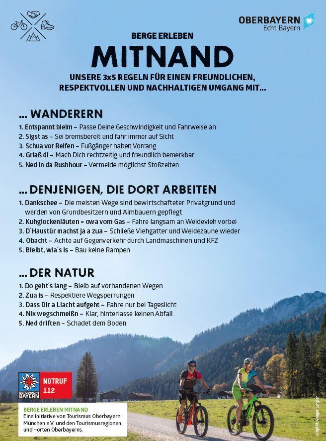 Fair Radelfahren im Einklang mit Natur & Umwelt
